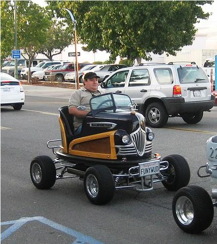 real bumper car mod design