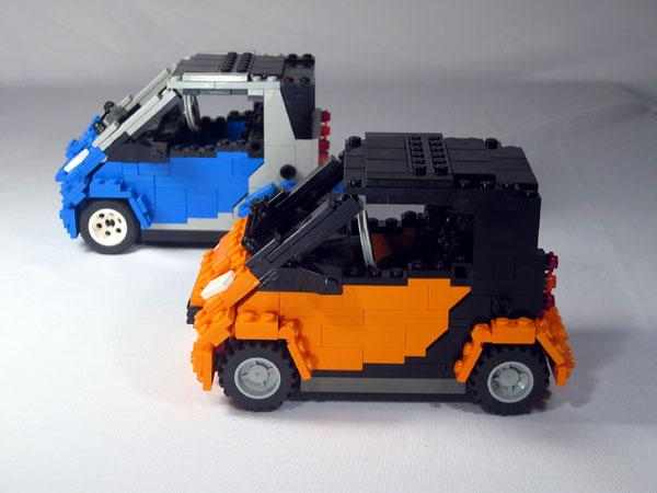 smart car lego design image