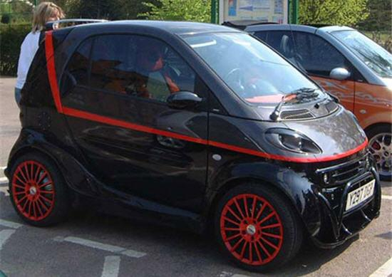 smart car the a team van design