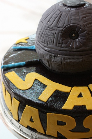 star wars cake designs. cake, which has Star Wars