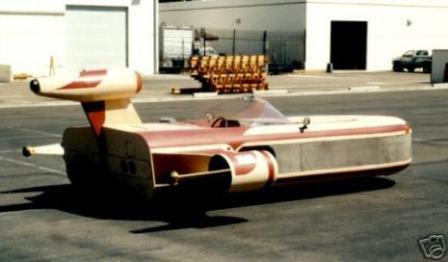 star wars landspeeder replica design 2