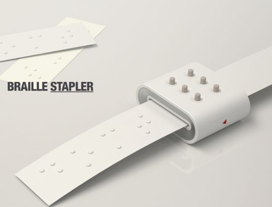 braille stapler