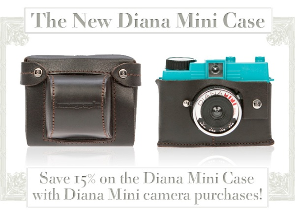 The Diana Mini uses 35mm films and has the capacity to shoot two different