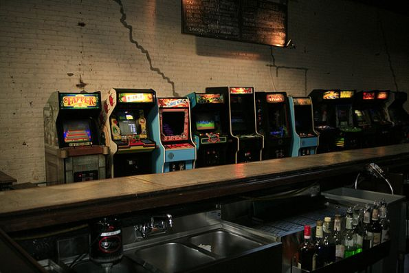 geek bars restaurants barcade brooklyn 1