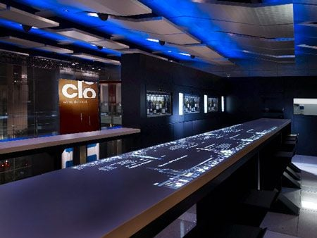 geek bars restaurants clo wine bar touchscreen bar 1