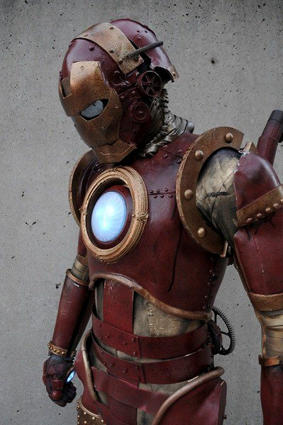 IronmanSteampunk thumb Steampunk Iron Man Suit