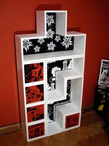 Tetris Shelf 3