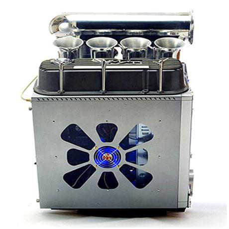 computer case mod v8 engine2