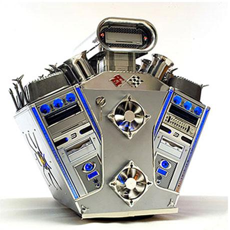 computer case mod v8 engine3