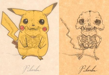 pikachu anatomy design image