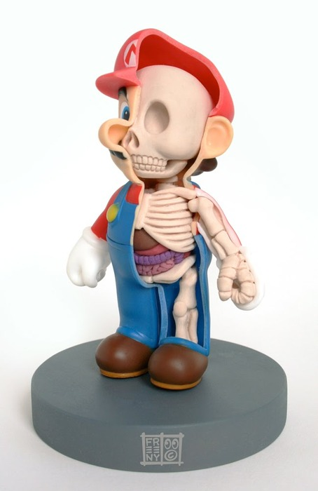 super mario anatomy design image