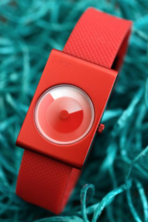 designer watch i toc time revolution red