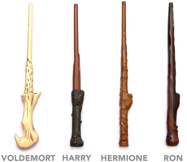 Гарри поттер волшебная палочка своими руками