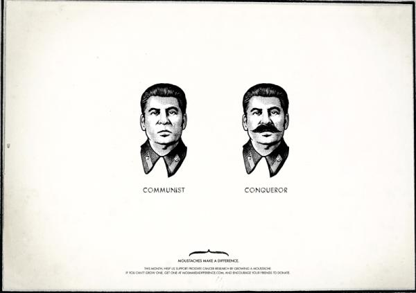 mustache design stalin