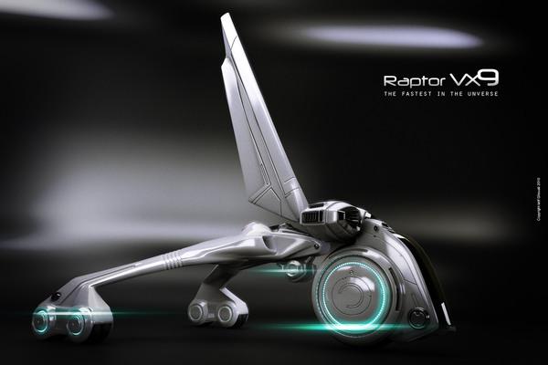 raptor design image wrr