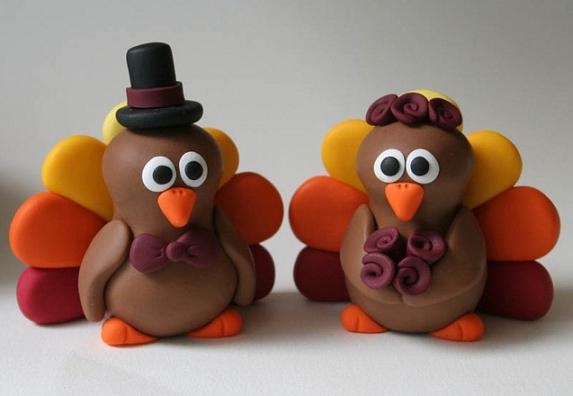 thanksgiving turkey cake miniatures 1