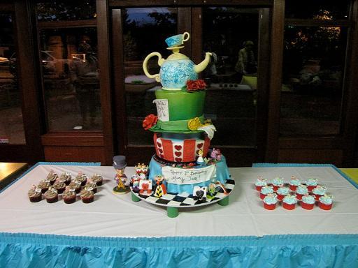 wonderland cake 0