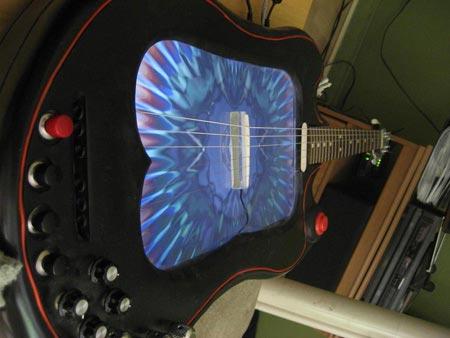 lcd screen guitar mod image