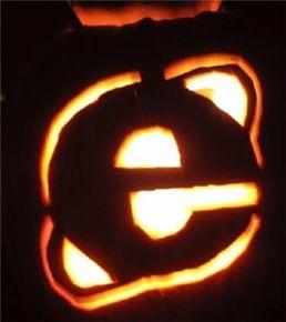Merveilleux Internet Explorer Browser Pumpkin