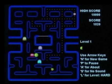 pacman-game-manhattan