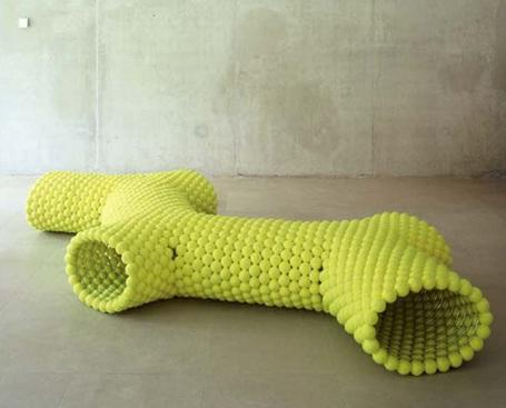 tennis-ball-bench