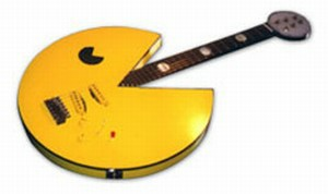 cool pacman guitar