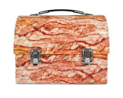 bacon food lunchbox