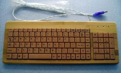 cool computer keyboard bamboo