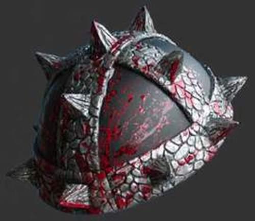 barbarian motorcycle helmet