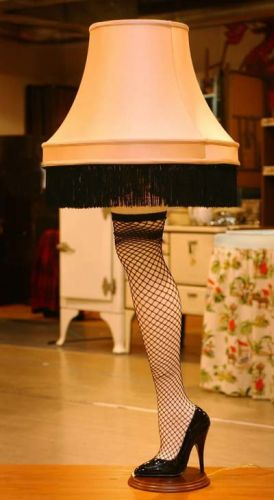 christmas story lamp from movie