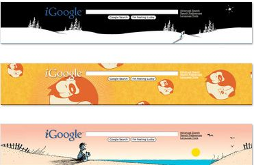 igoogle themes of comic books