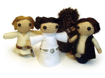 star wars  crochet dolls