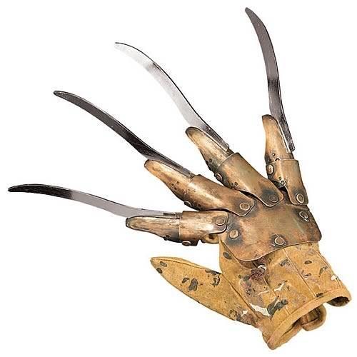 freddy krueger metal glove