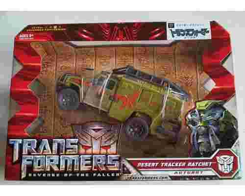 desert ratchet transformer action figure