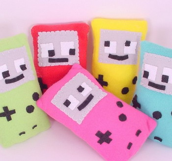 nintendo gameboy plushies gifts