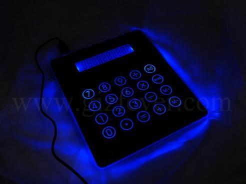 illuminated mousepad usb hub calculator