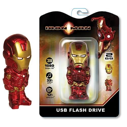 iron man usb flash drive gadget