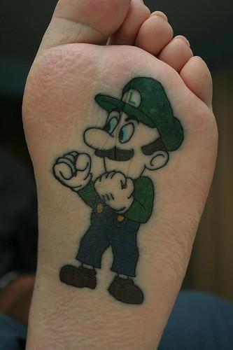 luigi tattoo