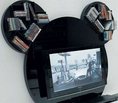 """A Mickey-Mouse T.V stand that'll make your T.V """"Stand Out!!""""2"""