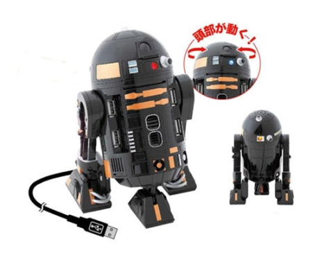 star wars r2 d2 usb hub
