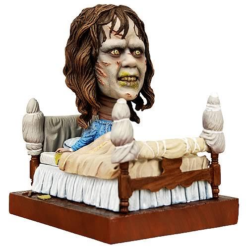 the exorcist bobble head action figure