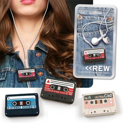 keep earphones untangled mini cassette tape