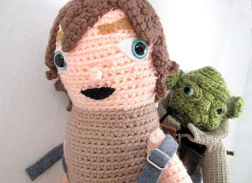 star wars luke skywalker yoda craftwork