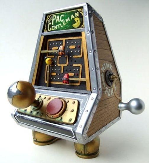 steampunk pacman game arcade