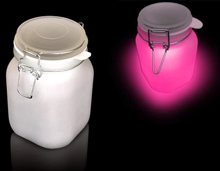 sunlight jar is hot pink