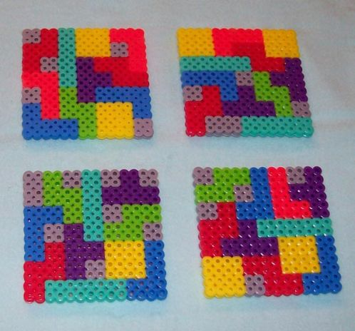 tetris game cool coasters