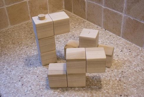 tetris salt and pepper shaker set