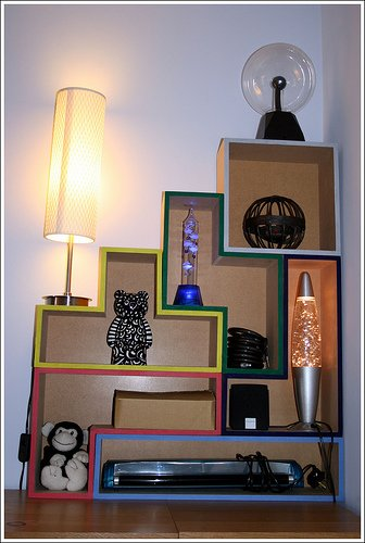 cool tetris shelves