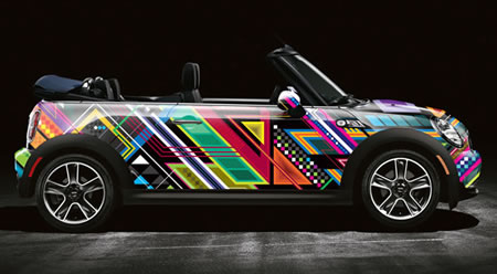 Pac-Man and Space Invaders are Taking Over Mini Coopers; Better Watch Out2