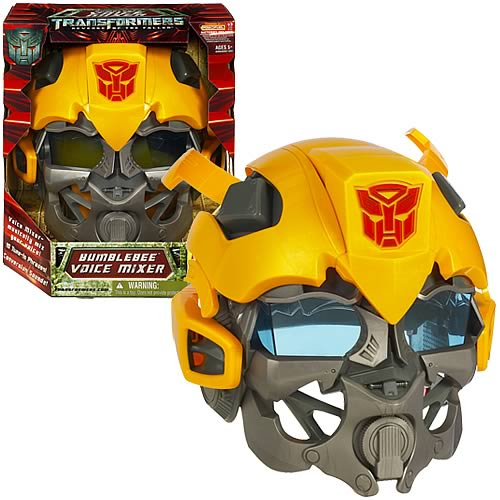 bumblebee transformer toy head gear